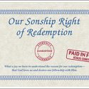 Our Sonship Right of Redemption