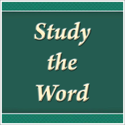 Four Steps to Renewing the Mind: (1) Study the Word of God